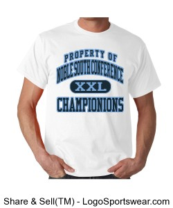 Noble South Champ T-shirt Design Zoom