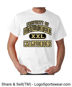 Death Valley Conference Champ T-shirt Design Zoom