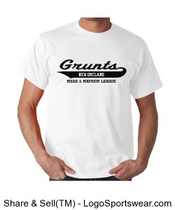 New Orcland Grunts T-shirt Design Zoom